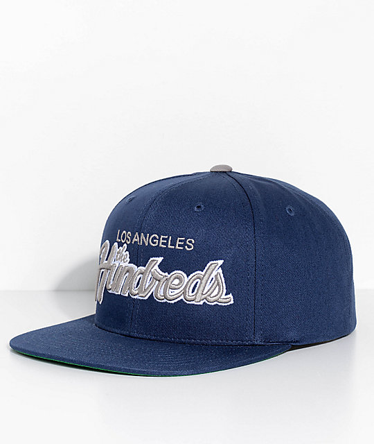 The Hundreds Team Two Navy Snapback Hat