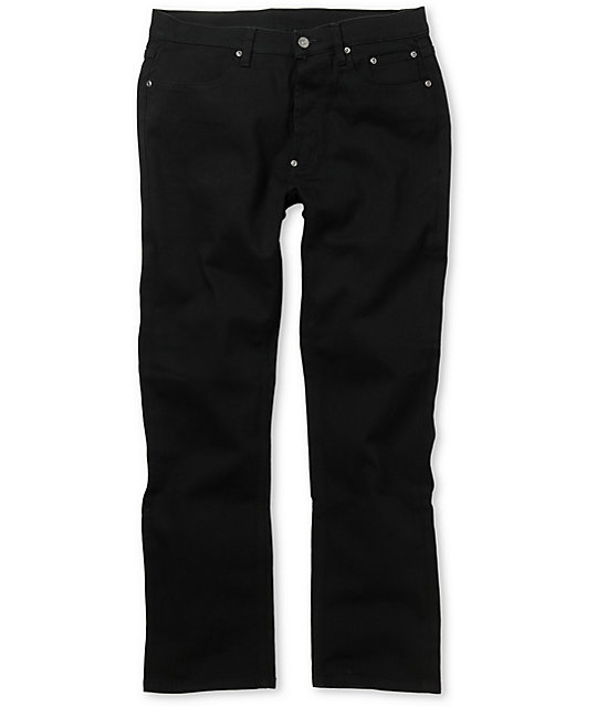 The Hundreds Temple Black Regular Jeans