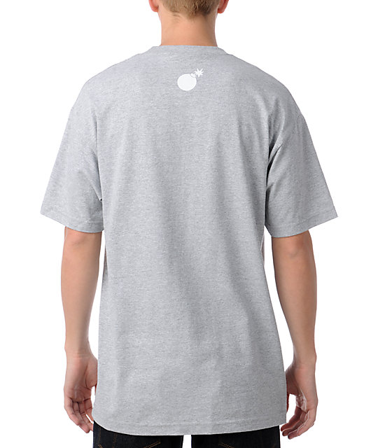 The Hundreds Title Scene Grey T-Shirt