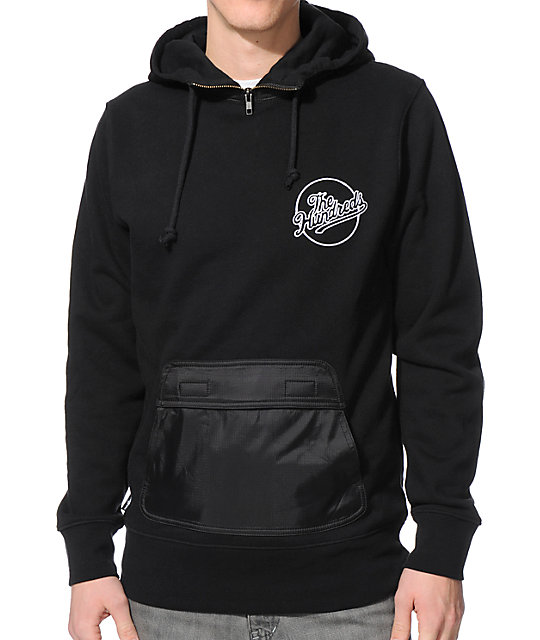 The Hundreds Turtle Black Pullover Hoodie