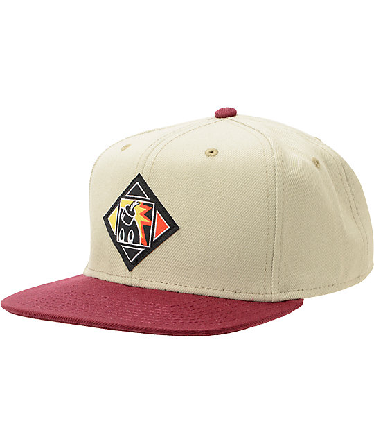 The Hundreds Want Khaki Snapback Hat