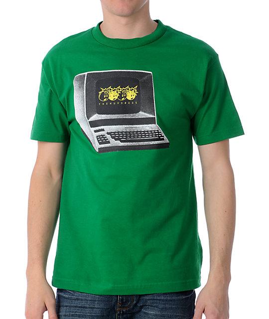 The Hundreds Werk Green T-Shirt