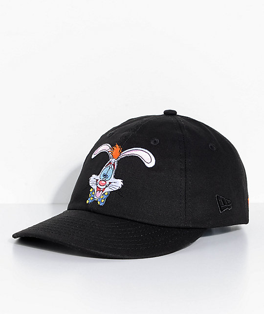 The Hundreds X Who Framed Roger Rabbit Black Snapback Hat
