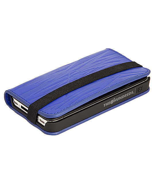 The Hundreds x Hex Blue Hundreds Code iPhone 4 Wallet