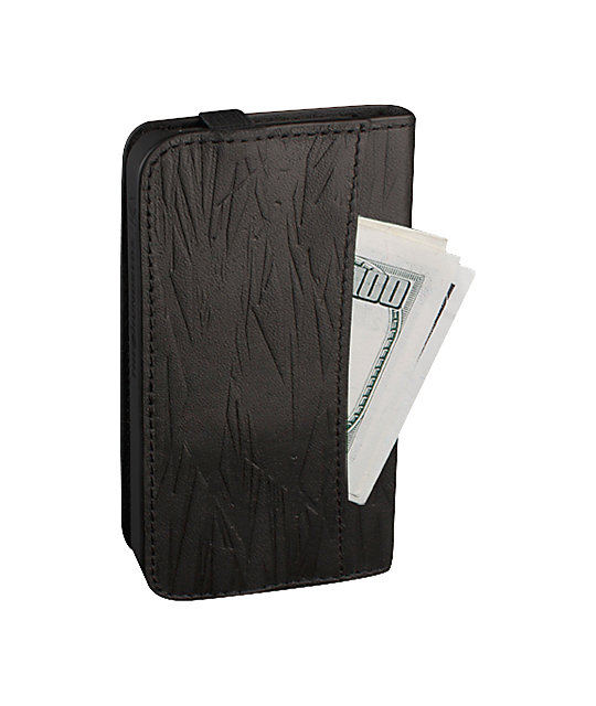 The Hundreds x Hex Code 2in1 Black iPhone Wallet