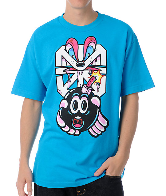 The Hundreds x The Seventh Letter Adam 2 Rime Turquoise T-Shirt