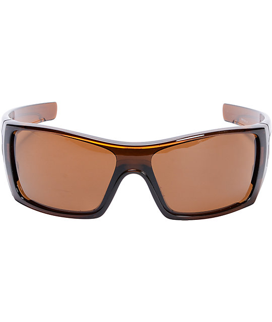 The Oakley Batwolf Rootbeer & Dark Bronze Sunglasses