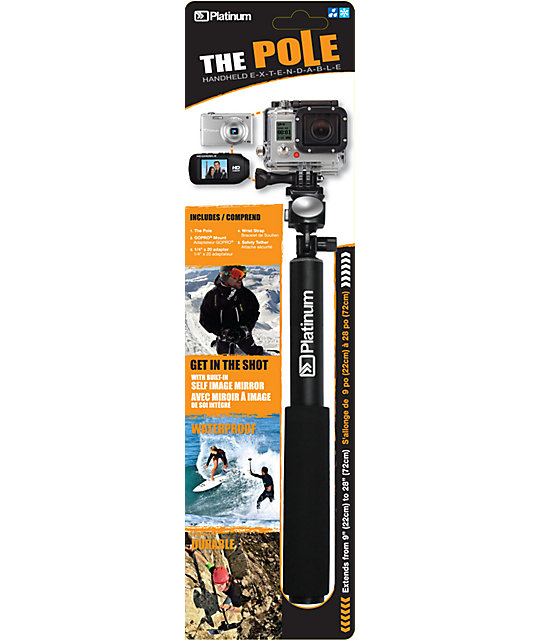 The Pole Extendable Camera Mount