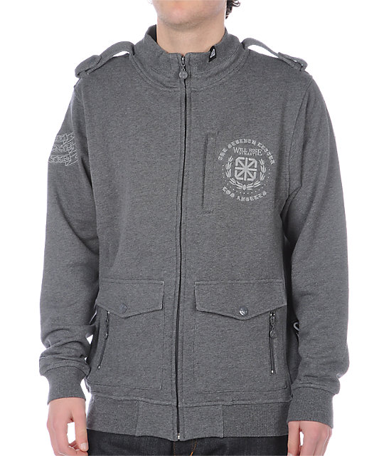 The Seventh Letter Traction Grey Jacket