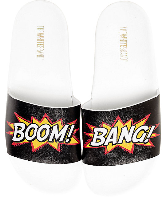 The White Brand Boom Bang Slide Women's Sandals