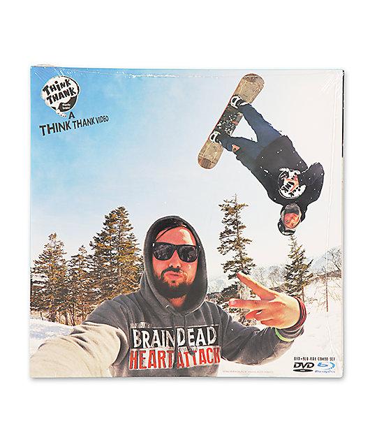 Think Thank Is Braindead & Having A Heart Attack Snowboard DVD
