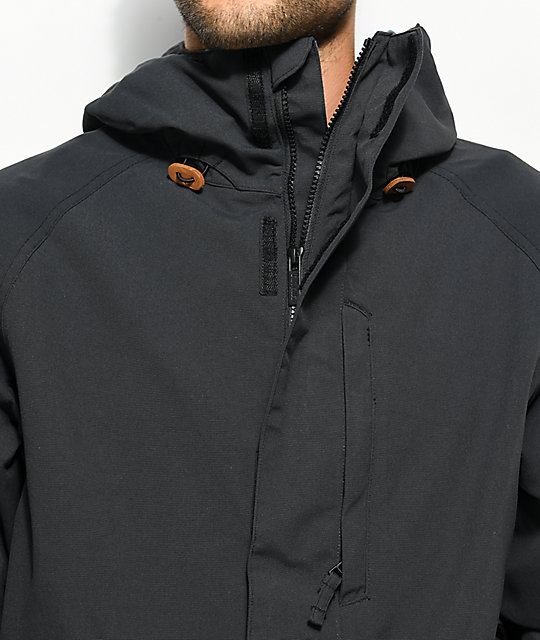 ThirtyTwo Deep Creek Black 10K Snowboard Jacket