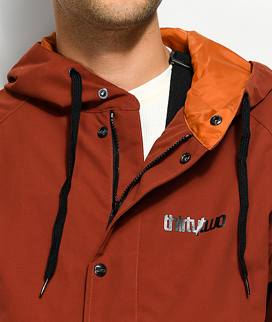 ThirtyTwo Grasser Oxblood 10K Snowboard Jacket