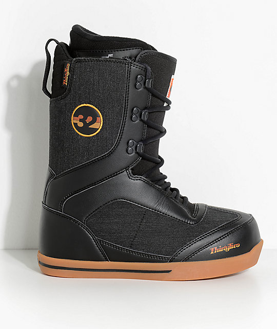 ThirtyTwo Lo-Cut Black Snowboard Boots