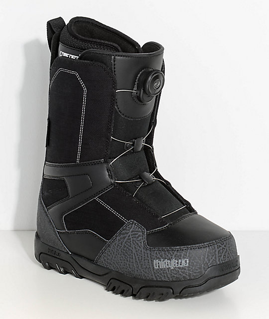 ThirtyTwo Shifty Black Boa Snowboard Boots