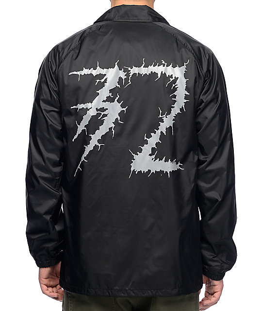 Thirtytwo Bat Rat Black Coaches Jacket