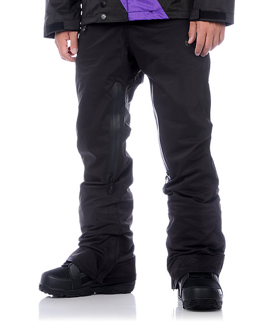 Thirtytwo Cappa Slim Black Snowboard Pants