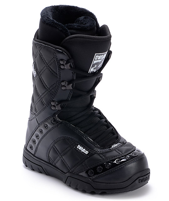 Thirtytwo Exus Black Womens Snowboard Boots