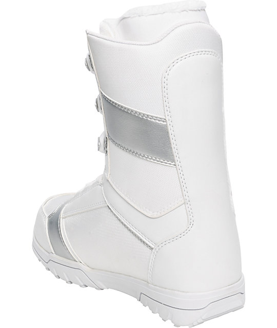 Thirtytwo Exus White Womens Snowboard Boots