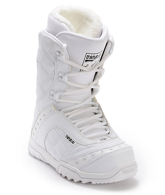 Thirtytwo Exus White Womens Snowboard Boots
