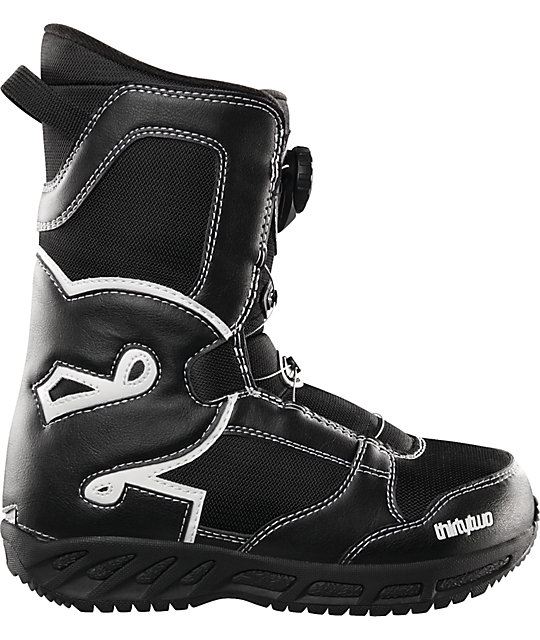 Thirtytwo Kids Boa Black Kids Snowboard Boots