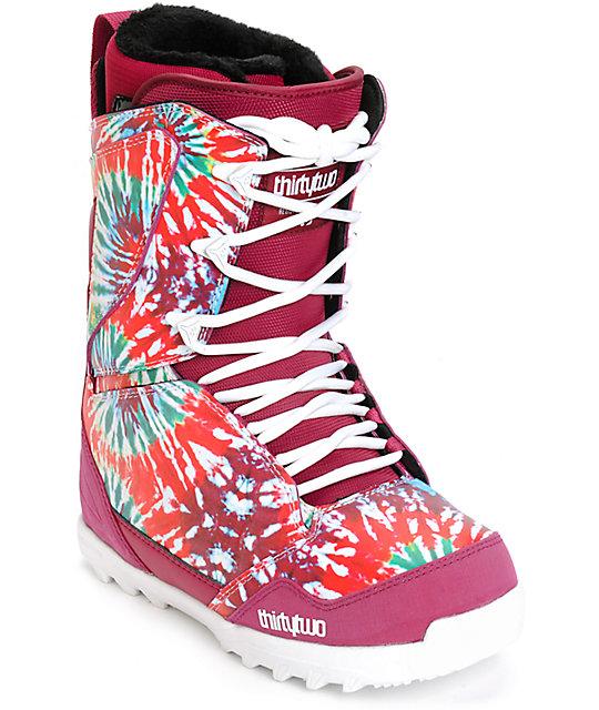 Thirtytwo Lashed botas de snowboard para mujeres
