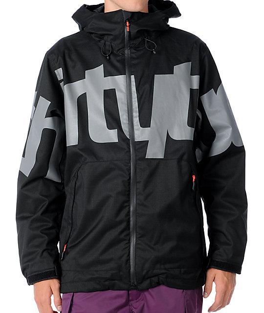 Thirtytwo Lowdown Black Mens Snowboard Jacket