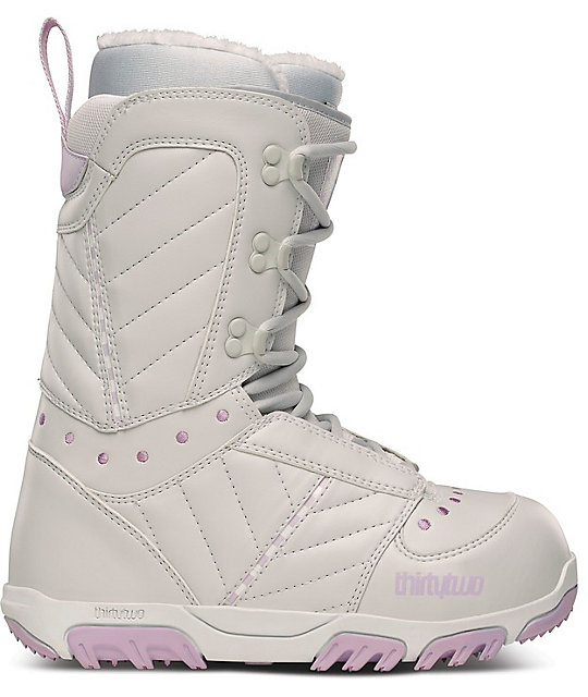 Thirtytwo Prion Grey Womens Snowboard Boots