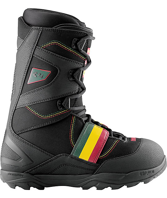 Thirtytwo Prospect JP Walker Black Snowboard Boots