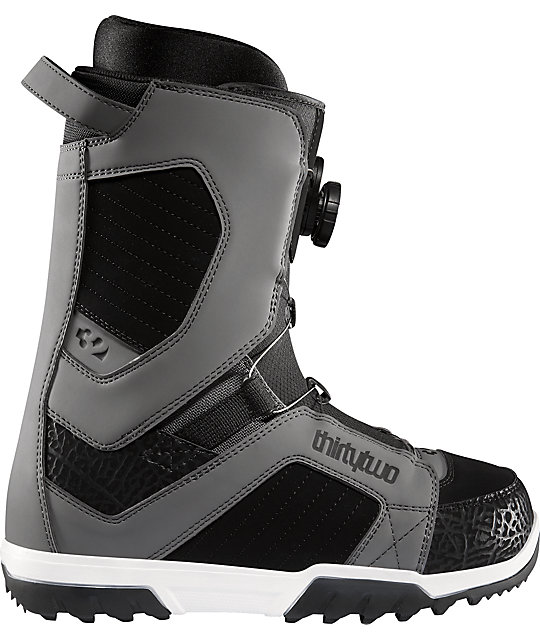 Thirtytwo STW BOA Grey Mens Snowboard Boots