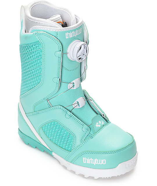 Thirtytwo STW Boa Mint Womens Snowboard Boots