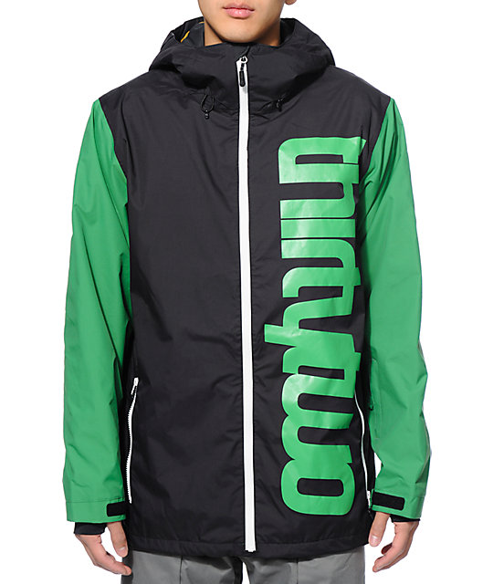 Thirtytwo Shiloh 2 Black 10K Snowboard Jacket