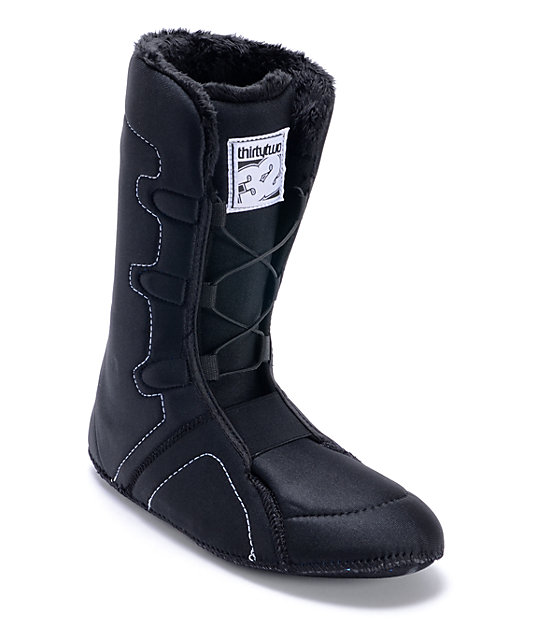 Thirtytwo Summit Black Snowboard Boot