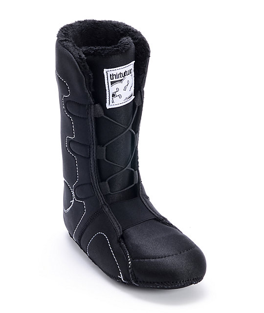Thirtytwo Womens STW Boa Black Snowboard Boot