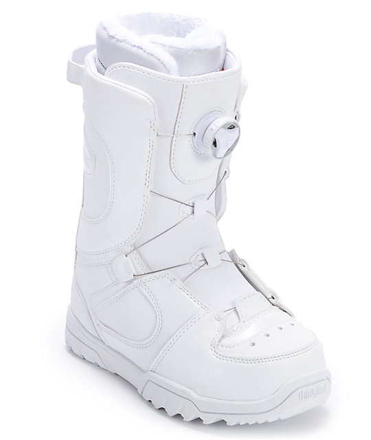 Thirtytwo Womens STW Boa White Snowboard Boot