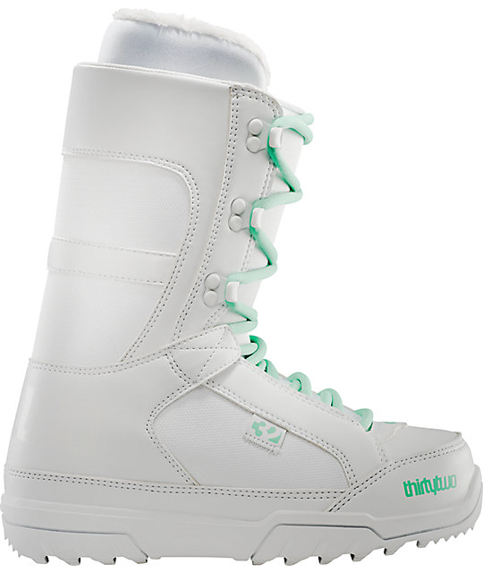 Thirtytwo Womens Summit White Snowboard Boot