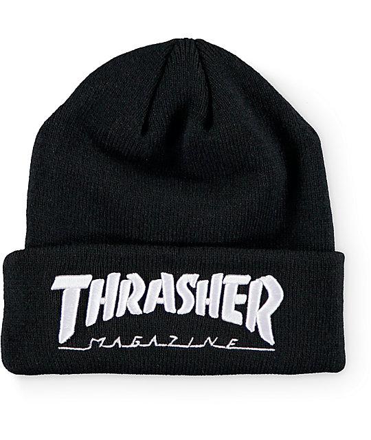 Thrasher Logo gorro con vuelta