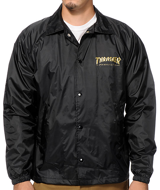 Thrasher Pentagram Coaches Jacket at Zumiez : PDP