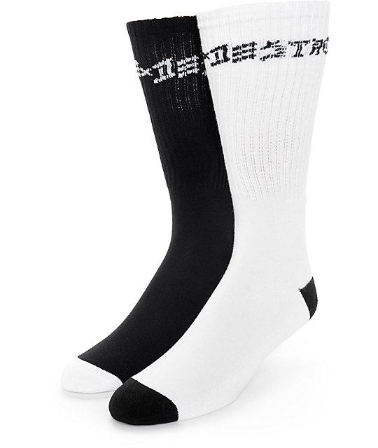 Thrasher Skate And Destroy 2 Pack Crew Socks