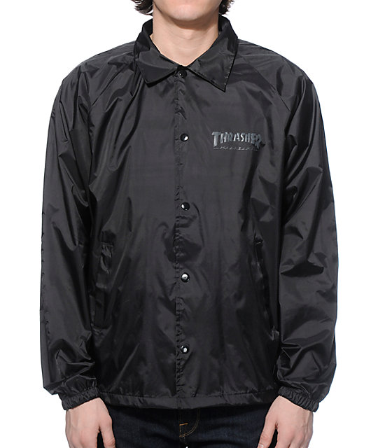 Thrasher Skate And Destroy Coach Jacket | Zumiez