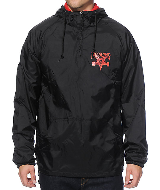 Thrasher Skategoat Hooded Coach Jacket