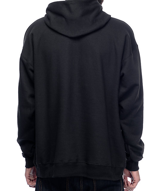Thrasher Two Tone Black Hoodie