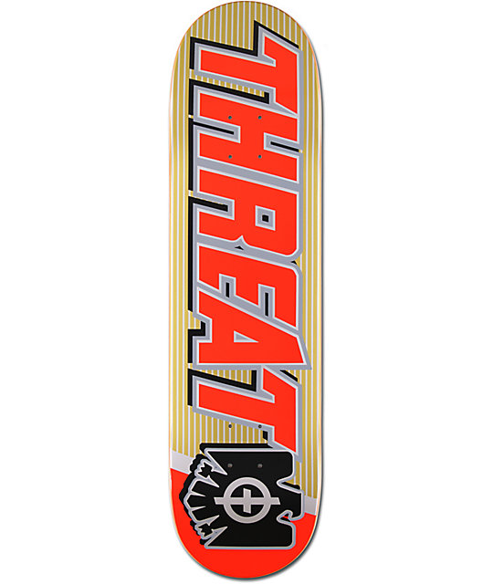"Threat Cerveza 8.25""  Skateboard Deck"