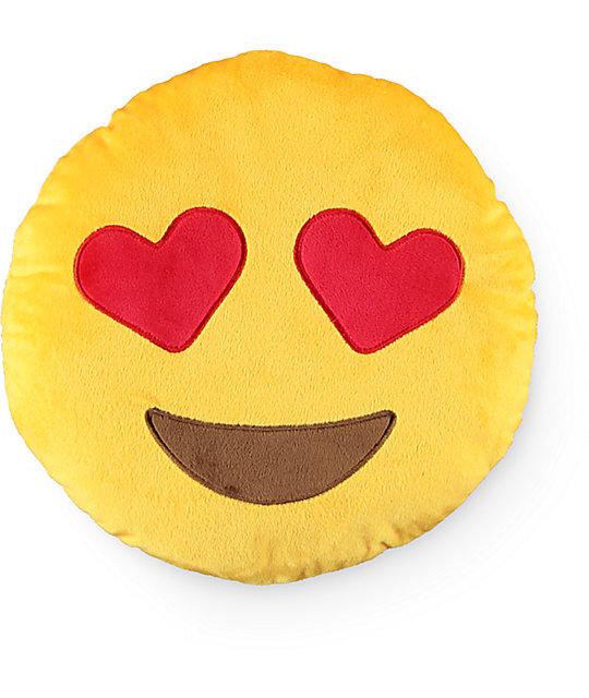 Throwboy Hearts Emoji almohada