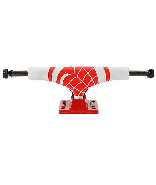 Thunder Sonora White & Red 147 Skateboard Truck