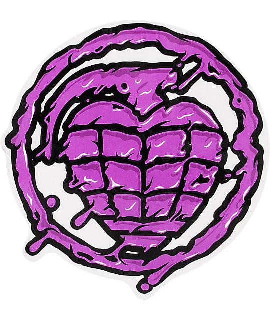 Thunder Trucks Sonora Toxin Purple Sticker