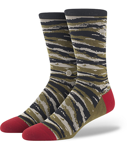 Tiger Toe Camo Stance Sock