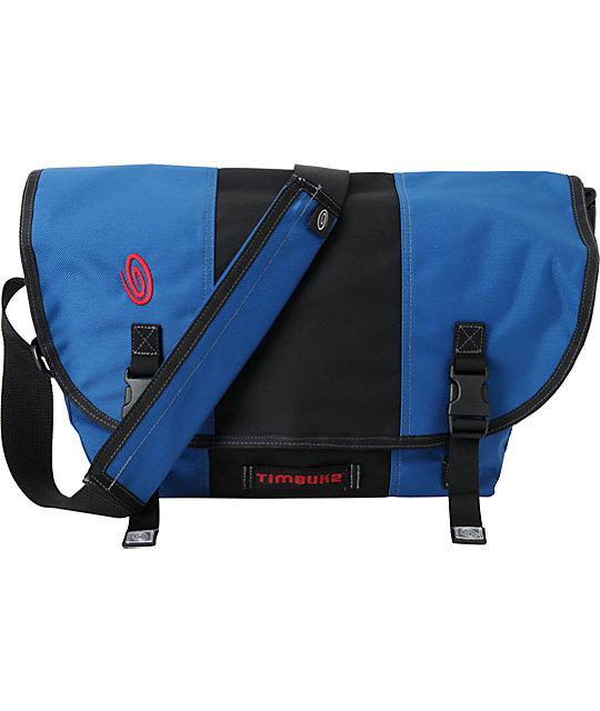 Timbuk2 Classic Blue & Black Medium Messenger Bag