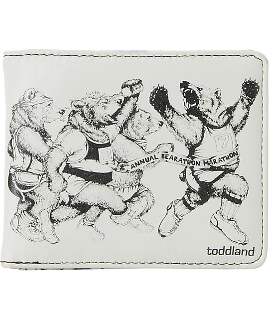 Toddland Bearathon Bifold Wallet