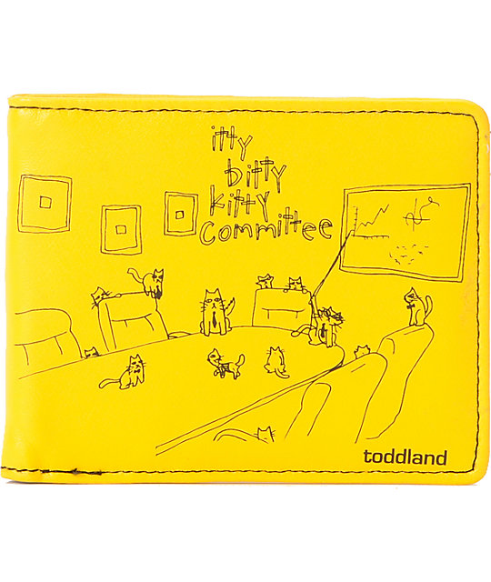 Toddland Kitty Committee Bifold Wallet